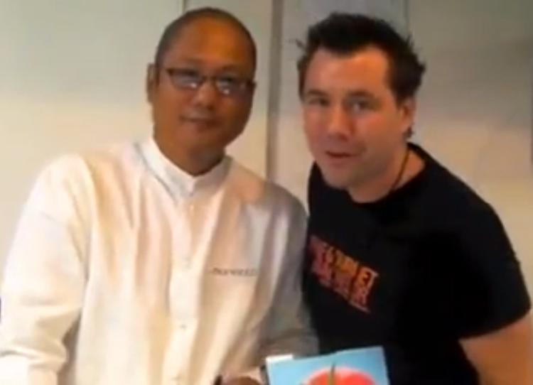 Iron Chef Morimoto Chad Carns