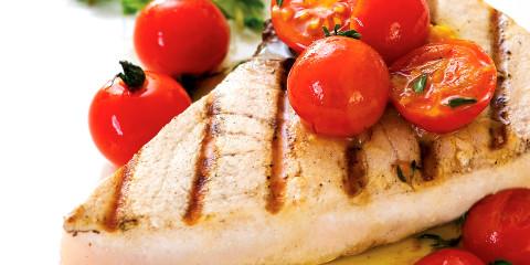 Swordfish Saffron Cherry Tomato