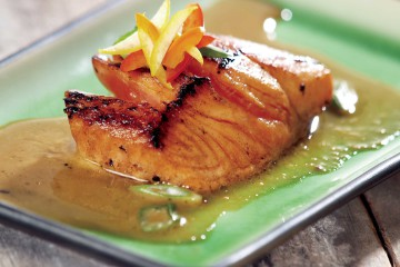 Honey-glazed Wild Salmon