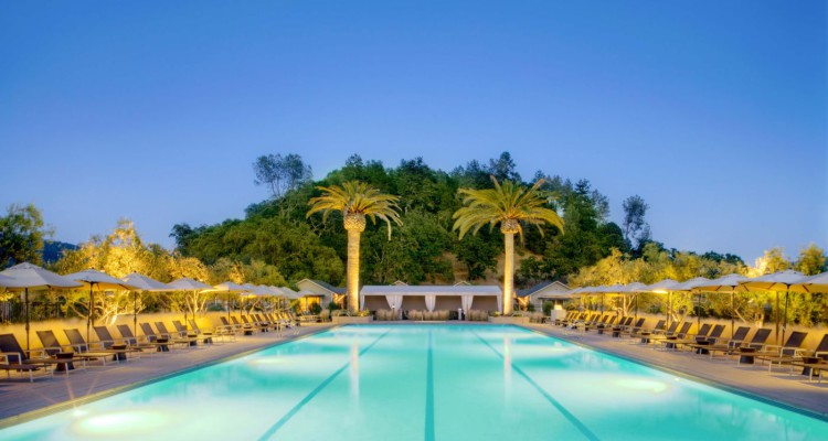 Solage Calistoga Pool