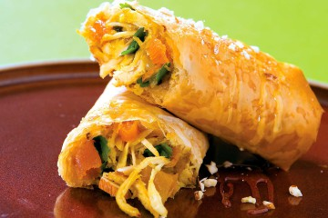 Moroccan Chicken Roll