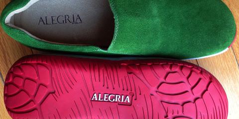 Alegria Men's Aaron Green Suede