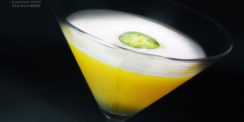 Daddy-O Yellow Fever Cocktail