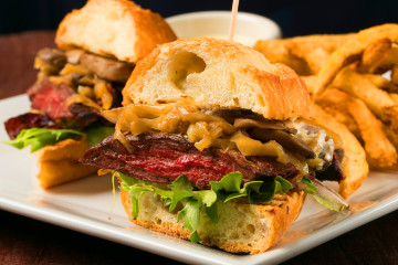 Blue Haven NYC Steak Sandwich