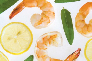 Lemon Sage Shrimp Recipe