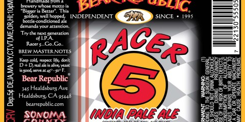 Racer 5 IPA by Bear Republic