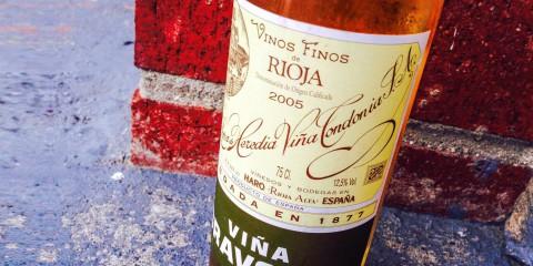 2005 Viña Gravonia Rioja Blanco Lopez de Heredia