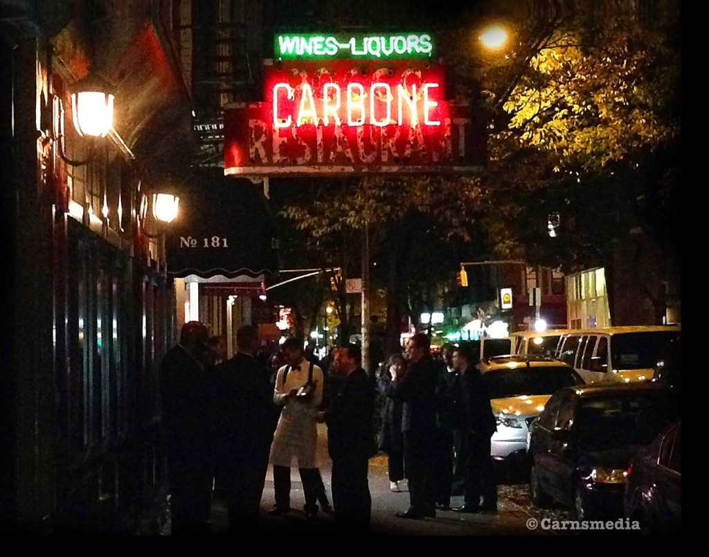 Carbone, Greenwich Village, NYC ©Carnsmedia