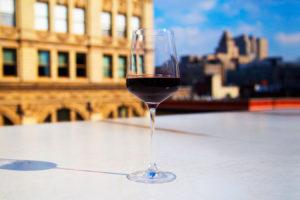 Tannin in red wine